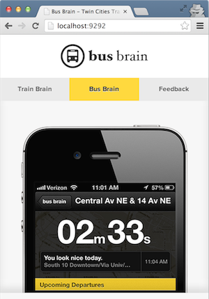 bus brain screenshot