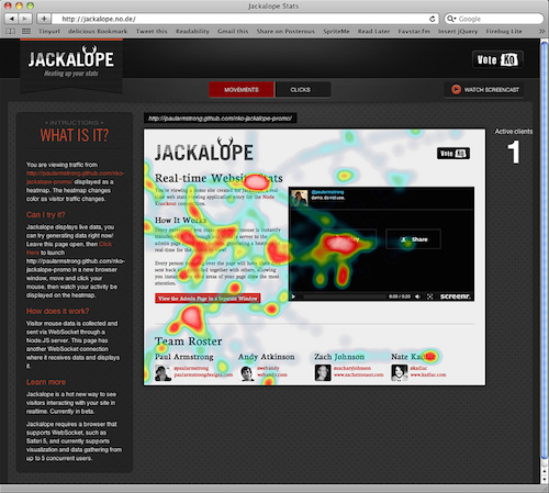 Node Knockout Jackalope screenshot